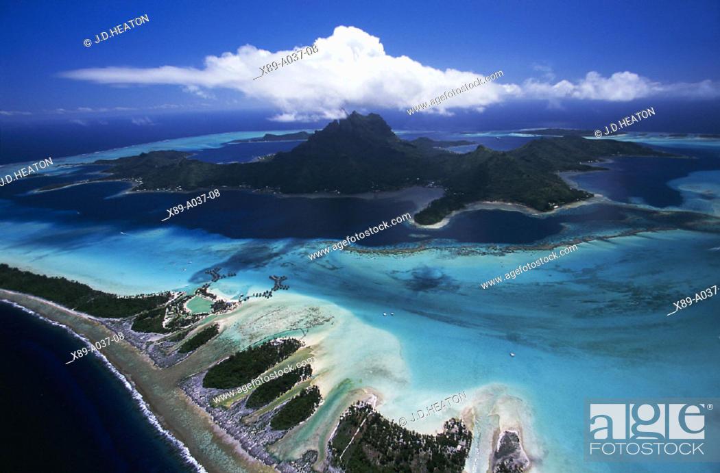 Stock Photo: Bora Bora, Tahiti.