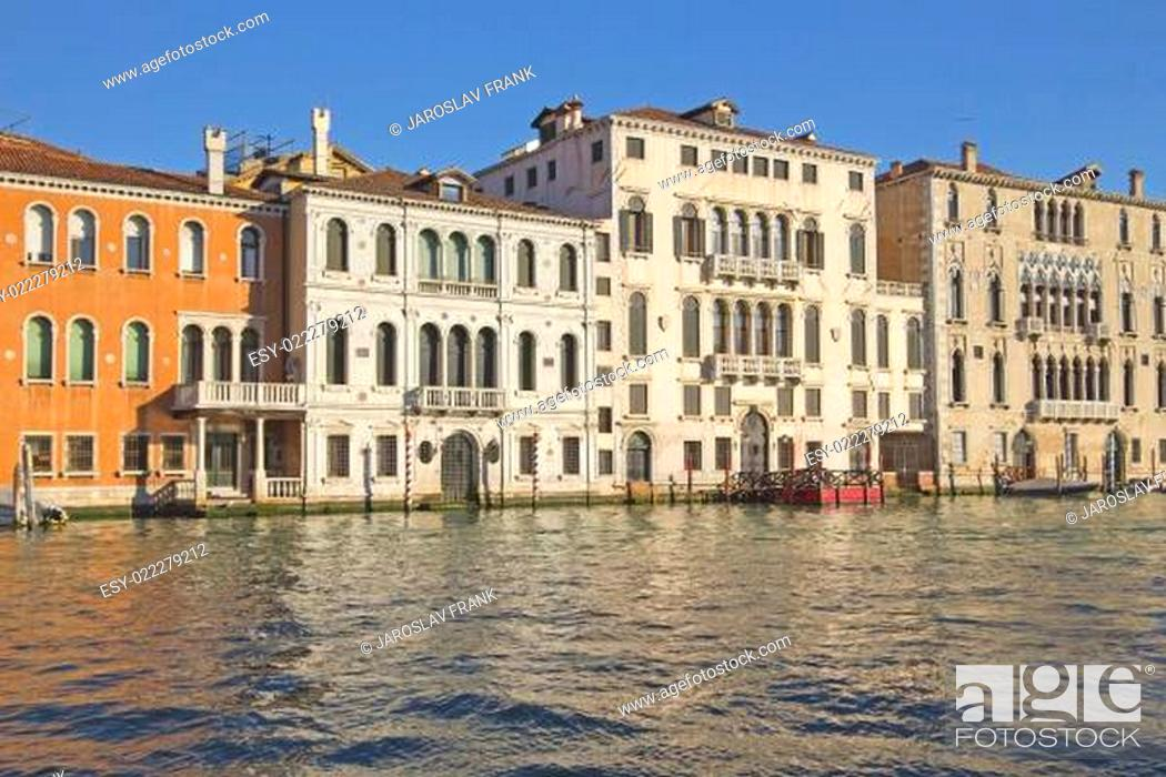 Imagen: Grand Canal in Venice (Italy).