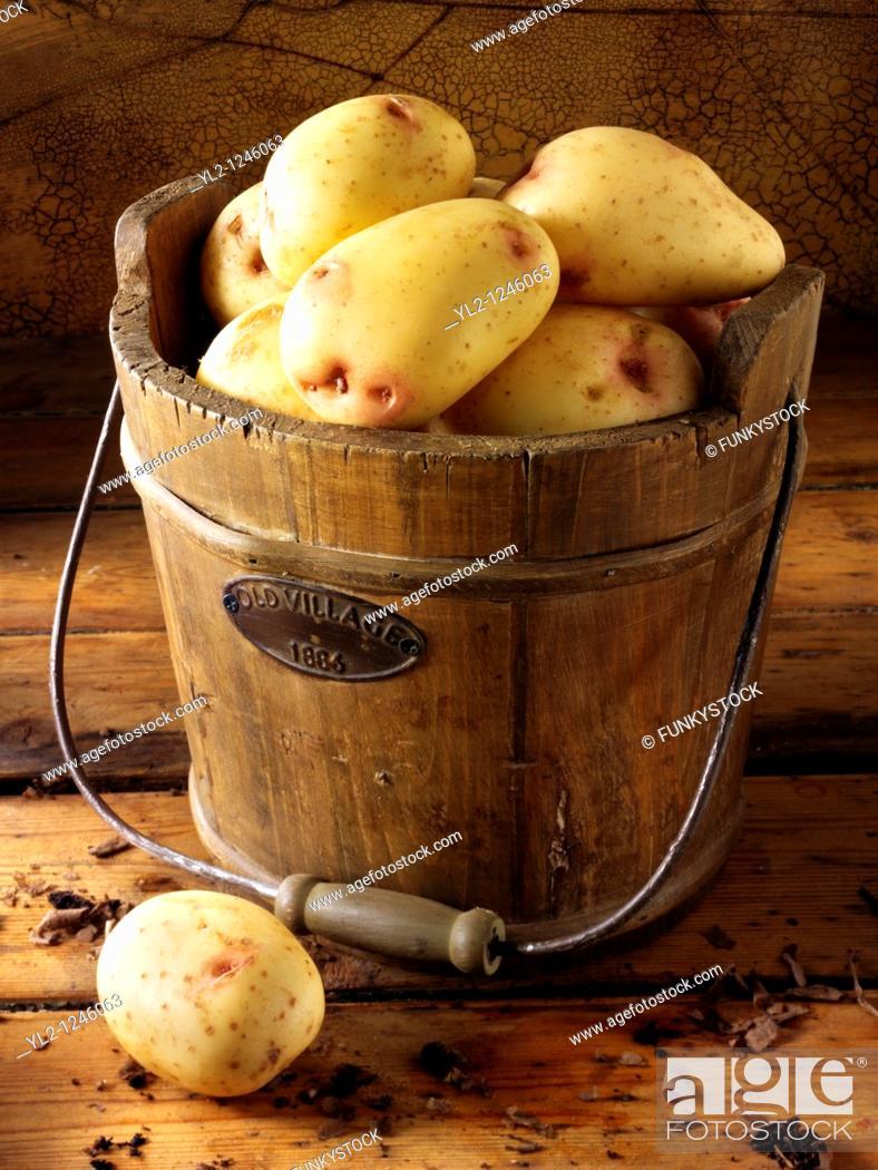 Stock Photo: King Edwards Potatoes.