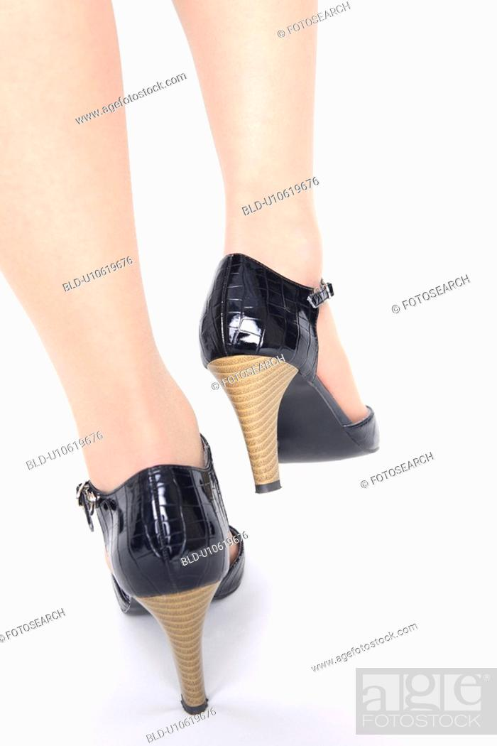 Stock Photo: High-heels.