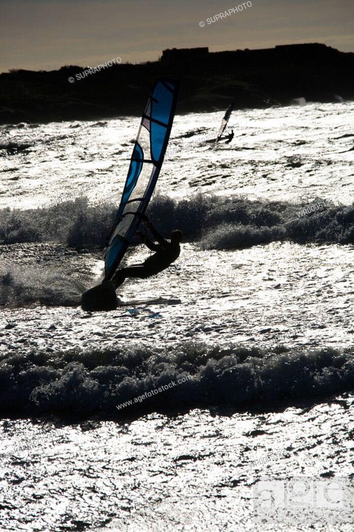 Stock Photo: Windsurf.