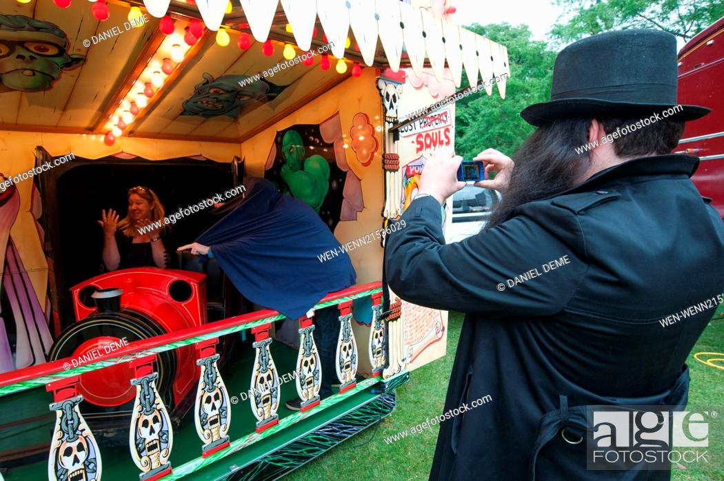 Carters Steam Fair Ghost Train Auditions Held At Eel Brook Common In