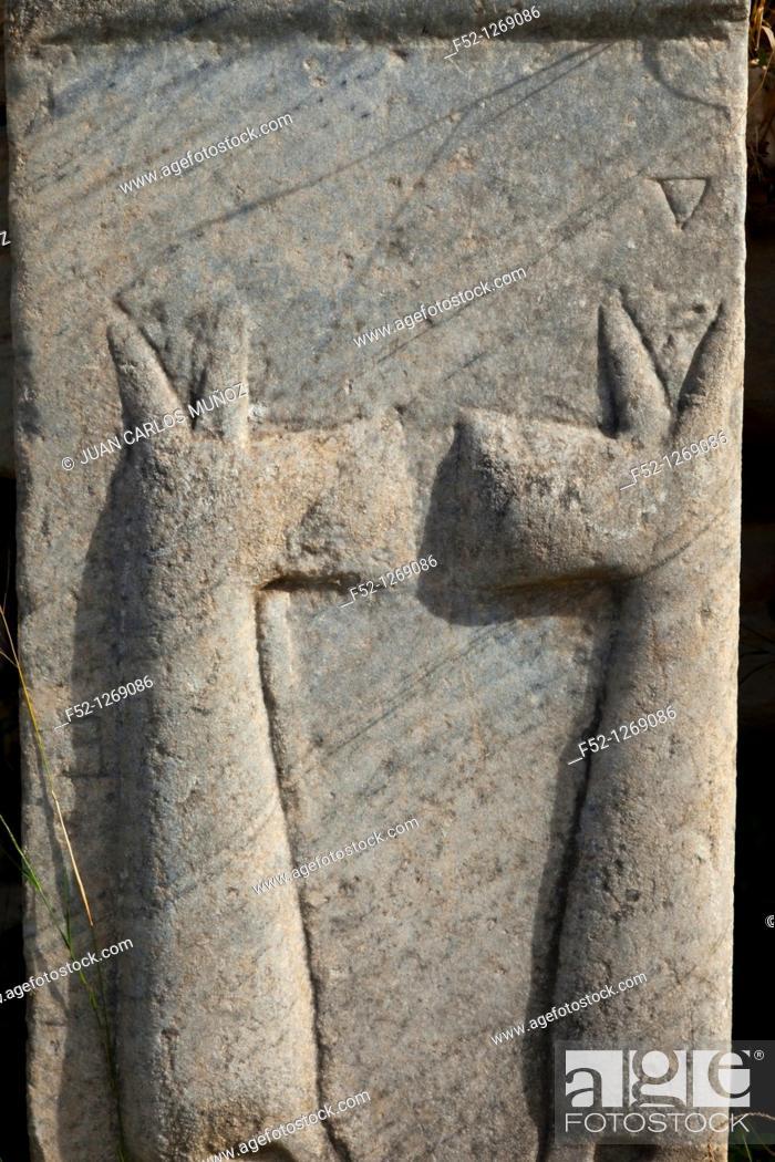 Stock Photo: Old Roman city of Ephesus, Selçuk, Izmir province, Turkey.