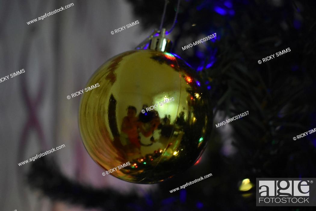 Imagen: Christmas decorations. Colombo, Sri Lanka.