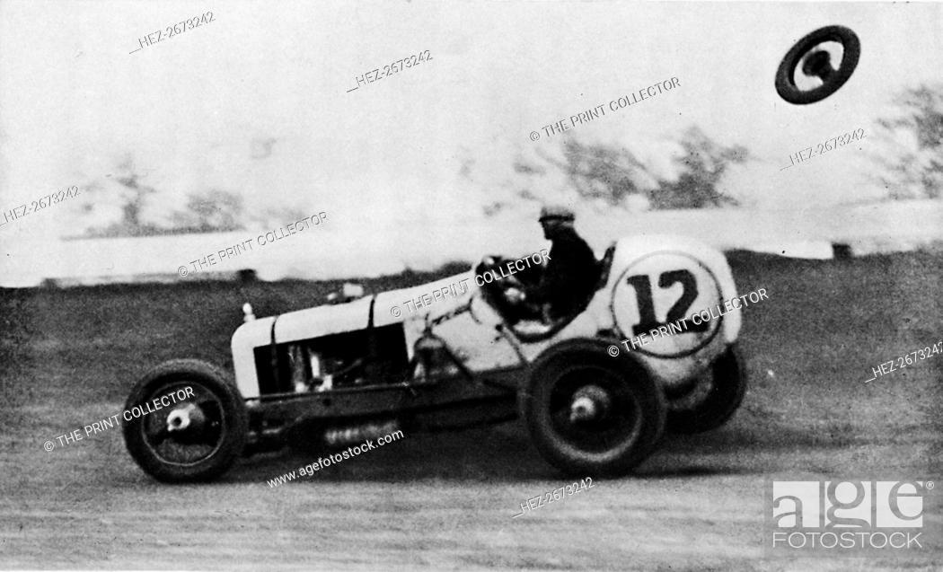 American Speedway Racing - Jack Ericson, turning on three wheels