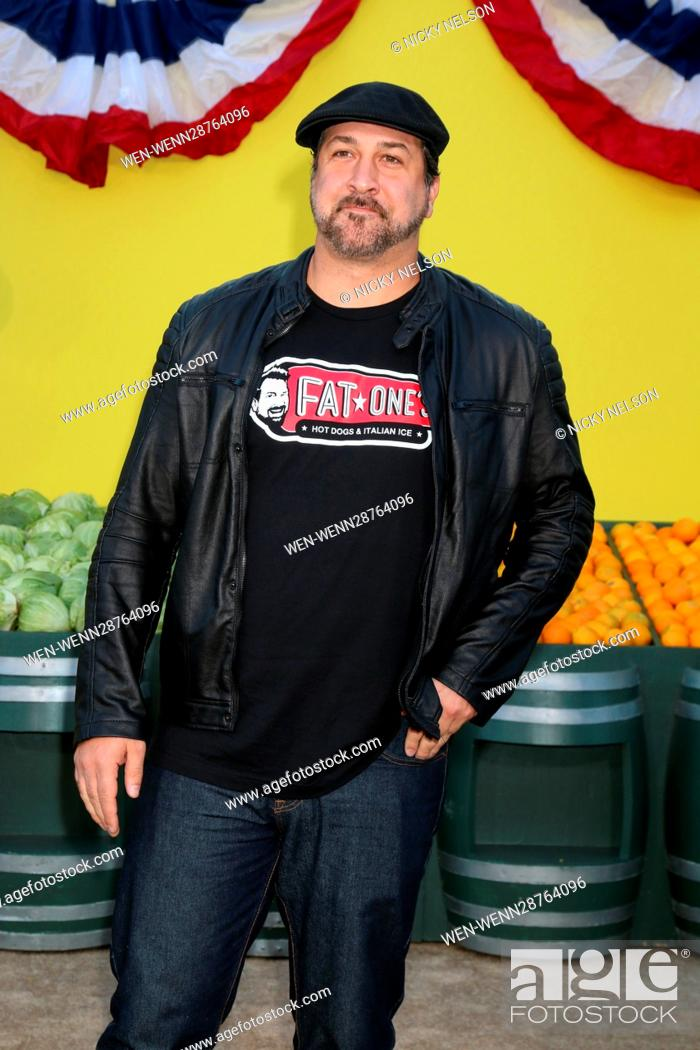 """Stock Photo: """"""""""""Sausage Party"""""""" Premiere at the Village Theater on August 9, 2016 in Westwood, CA Featuring: Joey Fatone Where: Westwood, California."""