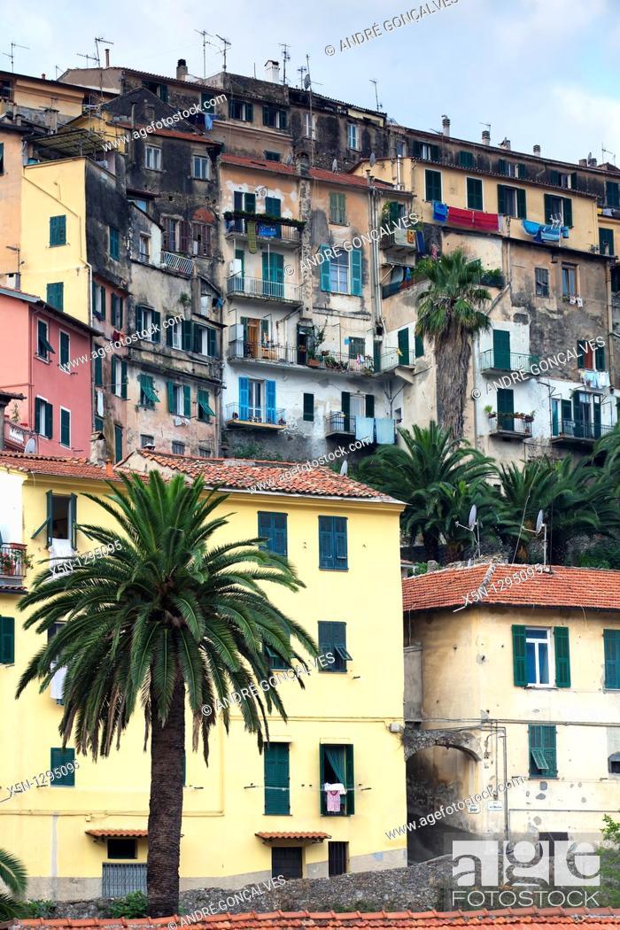 Stock Photo: Ventimiglia, Italy.