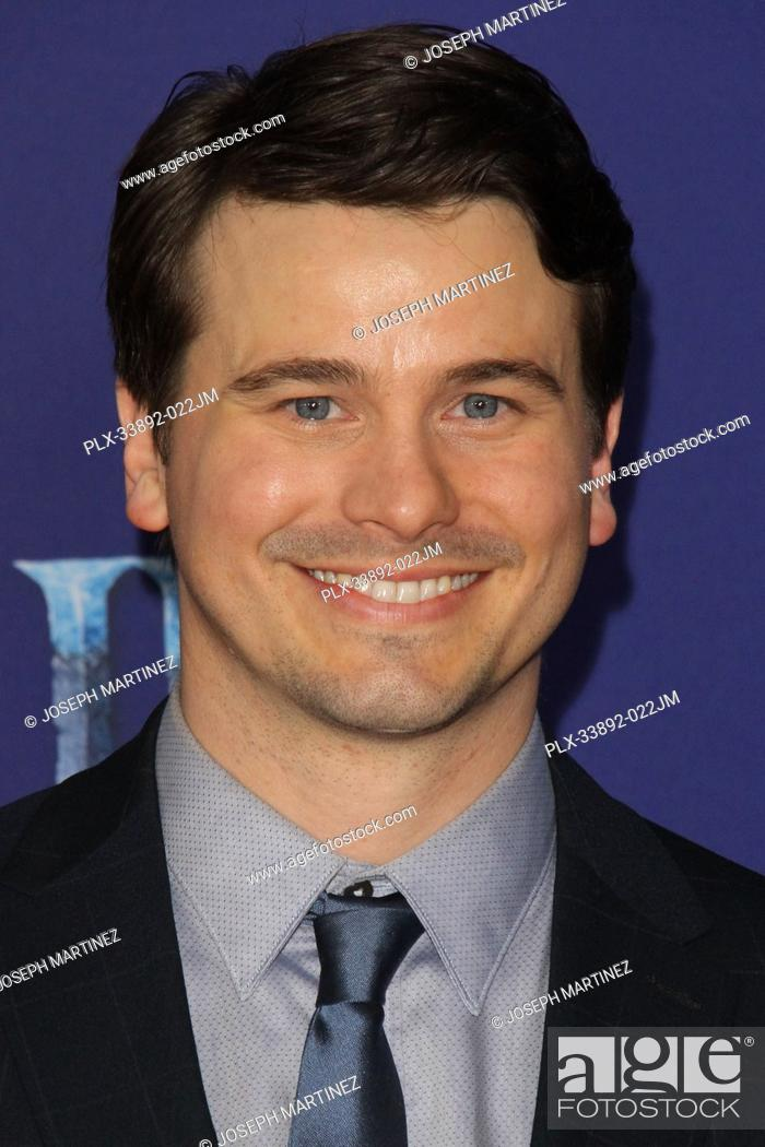 """Stock Photo: Jason Ritter at Disney's """"""""Frozen II"""""""" World Premiere held at the Dolby Theatre in Hollywood, CA, November 7, 2019. Photo Credit: Joseph Martinez / PictureLux."""