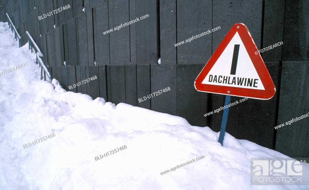 Stock Photo: danger, avalanche, cold, caution, calf, frosty, austria.