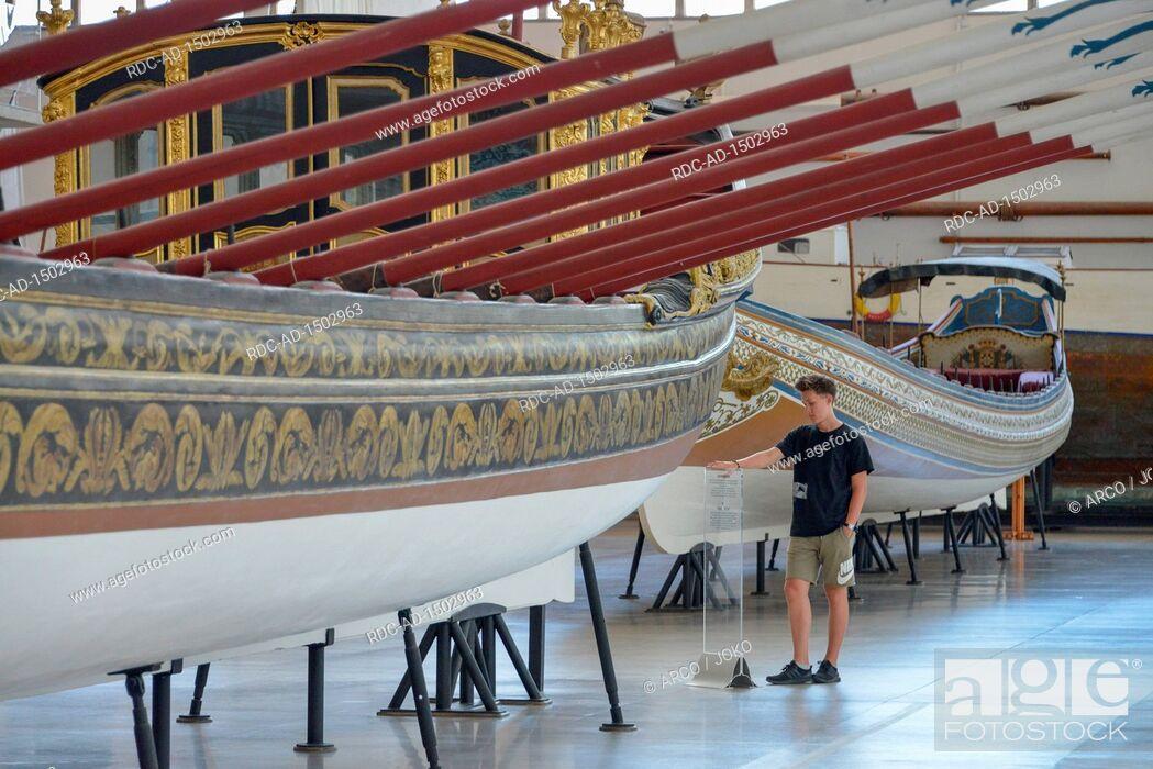 Stock Photo: Museum Museu de Marinha, Belem, Lissabon, Portugal.