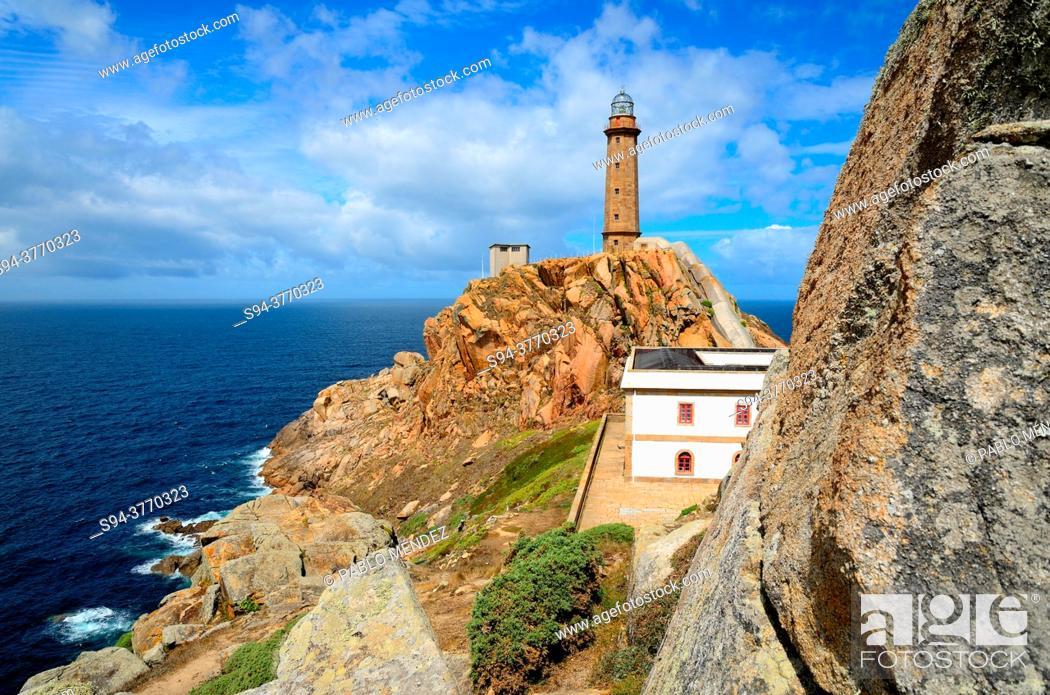 Imagen: Lighthouse of the Cape Vilan. Costa da Morte, Camariñas, A Coruña, Spain.