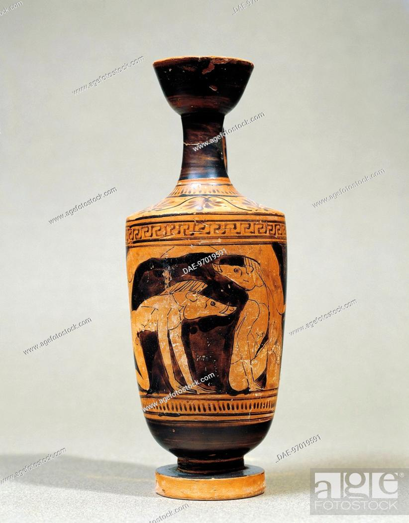 Greek Civilization 5th Century B C Red Figure Pottery Stock Photo Picture And Rights Managed Image Pic Dae 97019591 Agefotostock