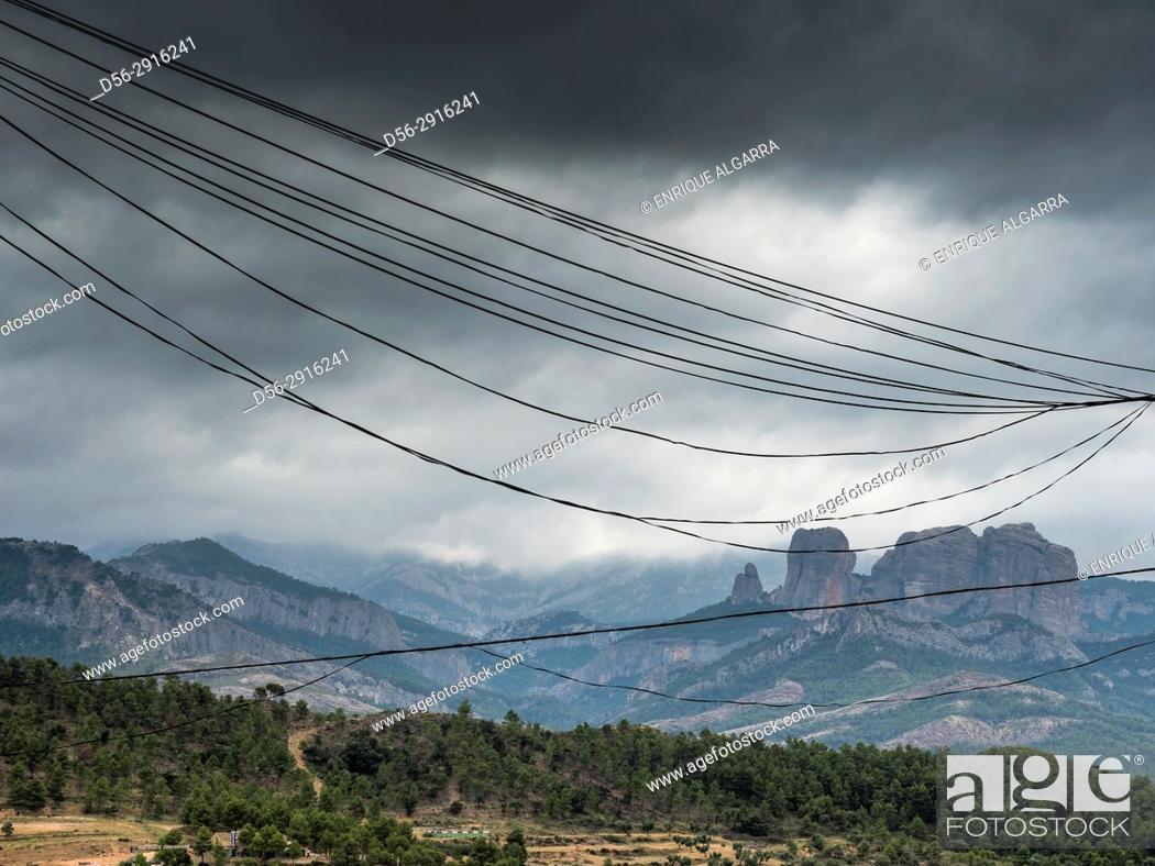 Stock Photo: Horta de Sant Joan, Tarragona, Spain.