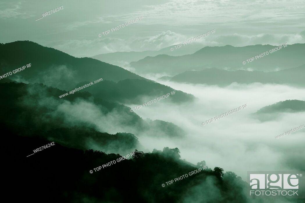 Stock Photo: Mountain Peak.