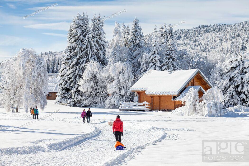 Imagen: La Feclaz, Savoie, Rhône-Alpes, France.