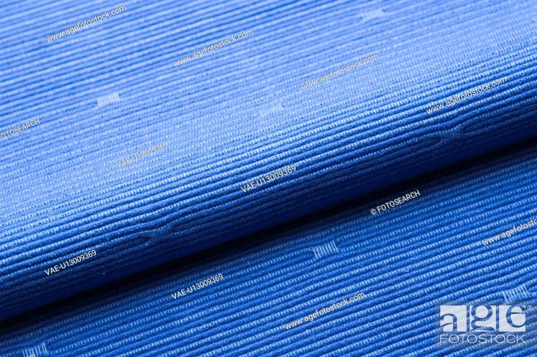 Stock Photo: Blue, Close-Up, Design, Fold.