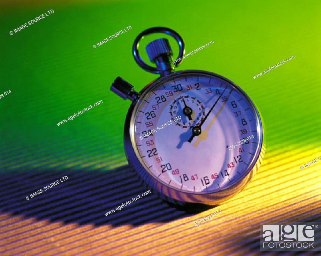 Stock Photo: Stopwatch.