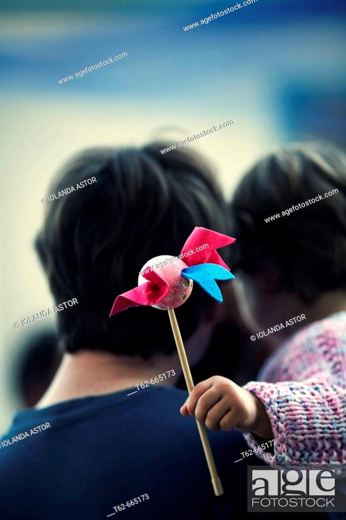 Stock Photo: Father and child.