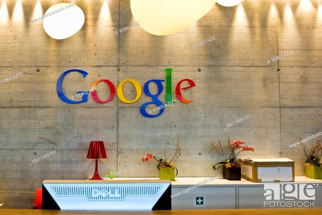 Stock Photo: The Swiss branch of google, Zurich, Switzerland.