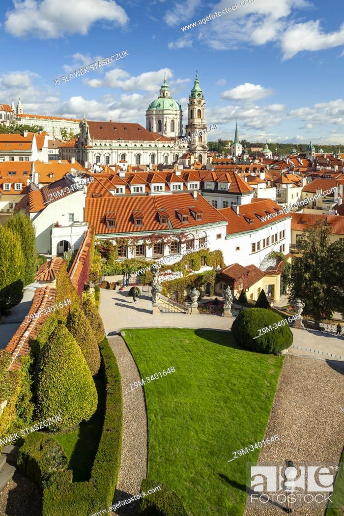 Imagen: Vrtba Garden in Prague, Czechia.