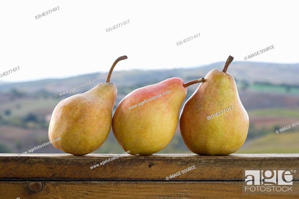 Stock Photo: Pears.