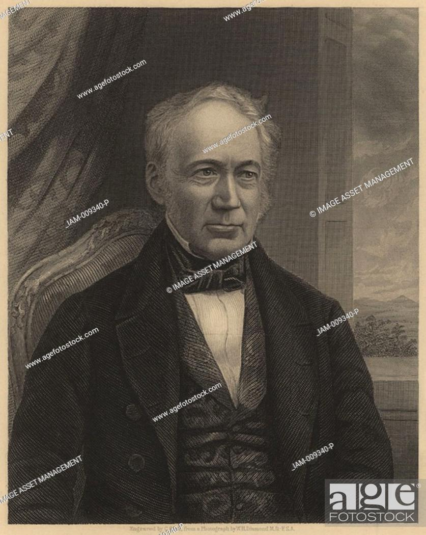 Stock Photo: Andrew Ure 1778-1857, Scottish chemist and scientific writer born in Glasgow  His 'Dictionary of Chemistry' appeared in 1821  He also wrote on manufactures and.