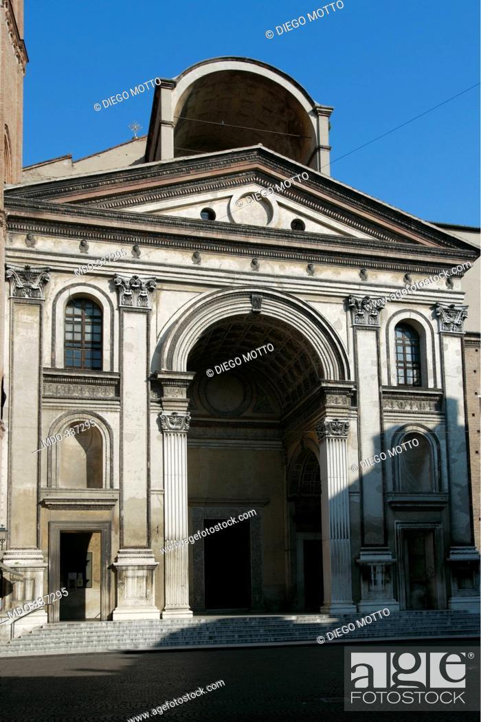 Basilica Of Sant Andrea In Mantua By Sketch Alberti Leon Battista