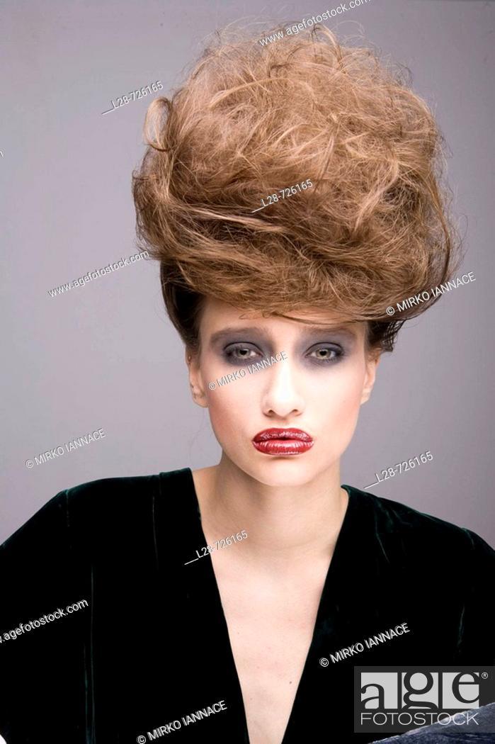 Stock Photo: woman beauty portrait.