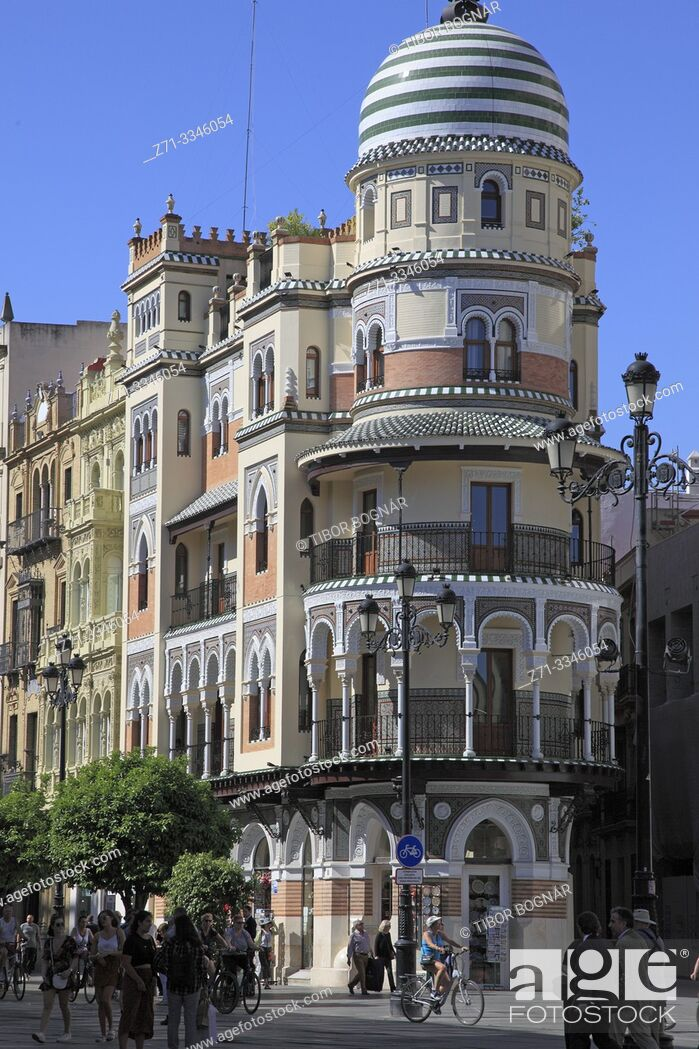 Imagen: Spain; Andalusia; Seville; Edificio de la Adriatica, .