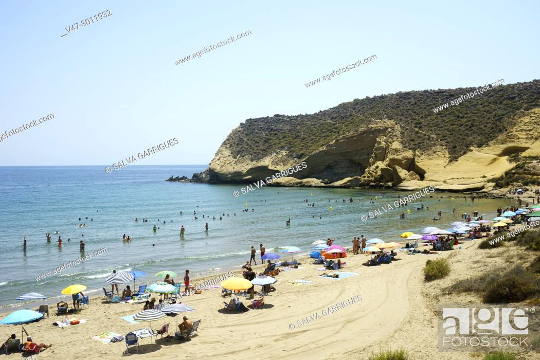 Stock Photo: Cala de Los Cocedores, Pulpí, Almeria, Andalucia, Spain.