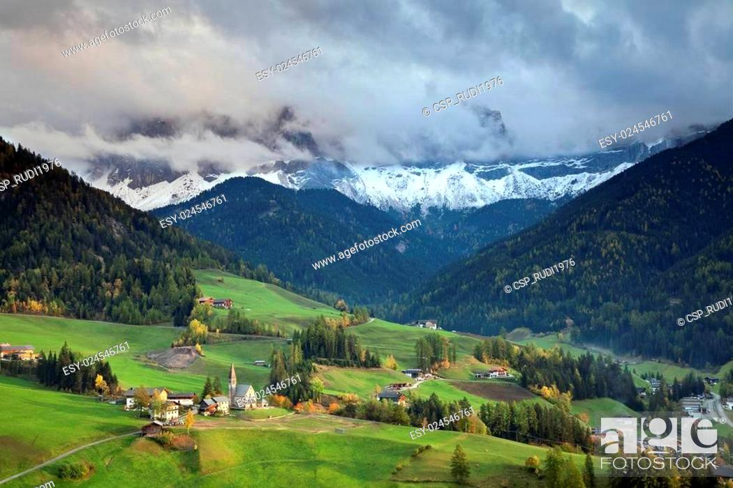Stock Photo: Italian Alps.