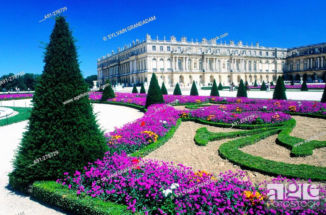 Stock Photo: Palace of Versailles. France.