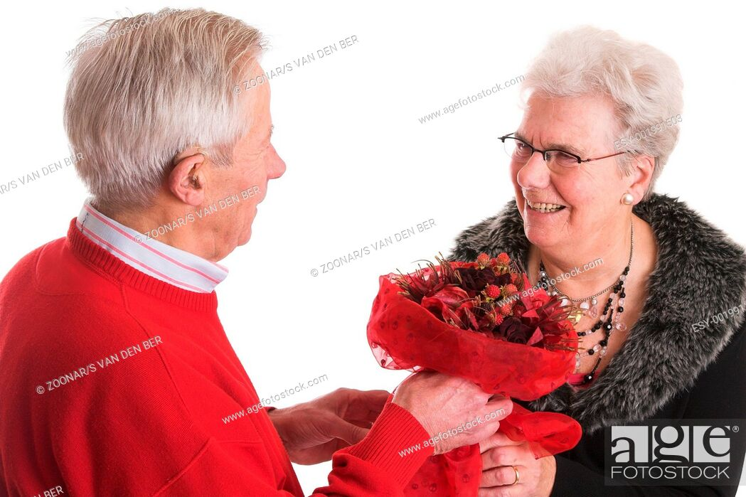 Stock Photo: Valentines bouquet.