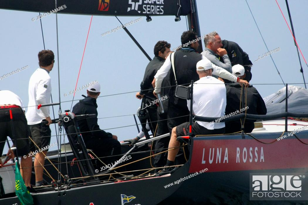 Stock Photo: Luna Rossa, #46, Owner: Patrizio Bertelli, Sail nr: ITA46, Yacht Club Circulo Della Vela Sicilia, Builder: Persico; Rolex TP 52 World Championship.