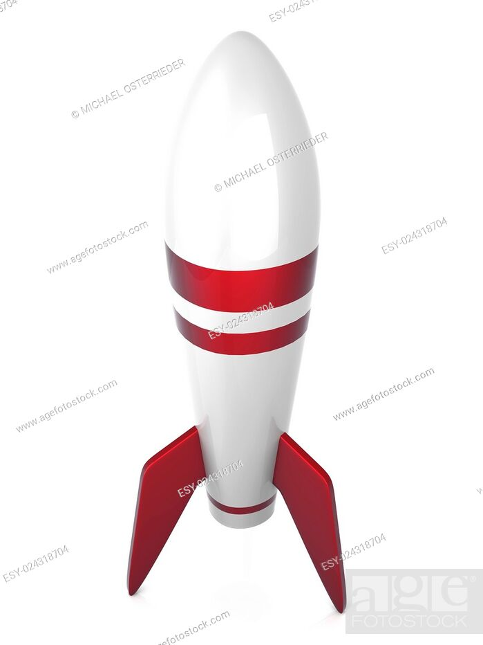 Stock Photo: 3D rendered Illustration. Isolated on white.