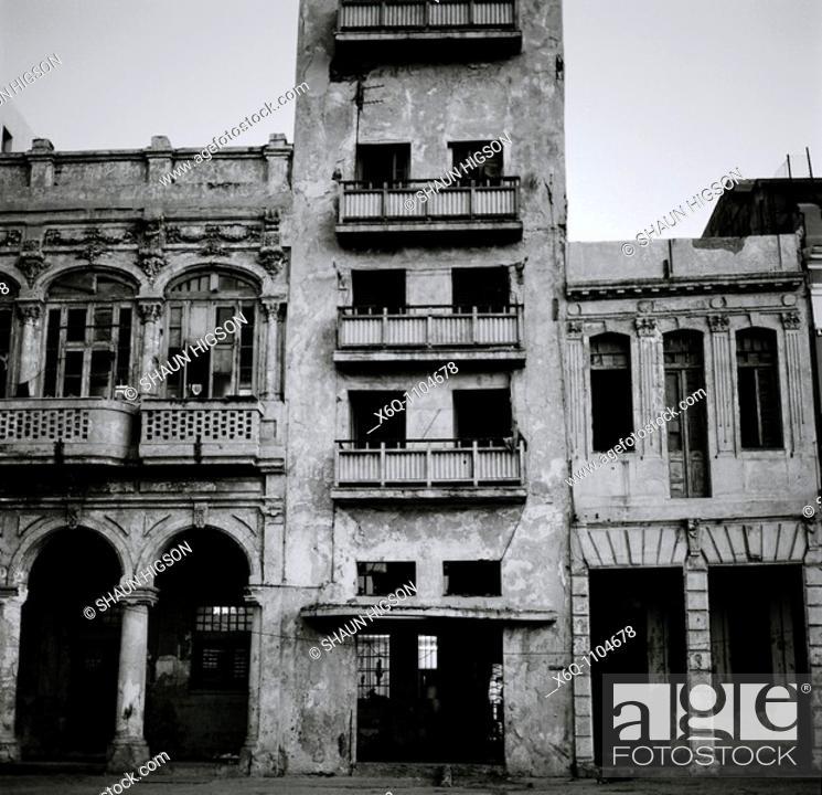 Stock Photo: The Malecon in Havana, Cuba.