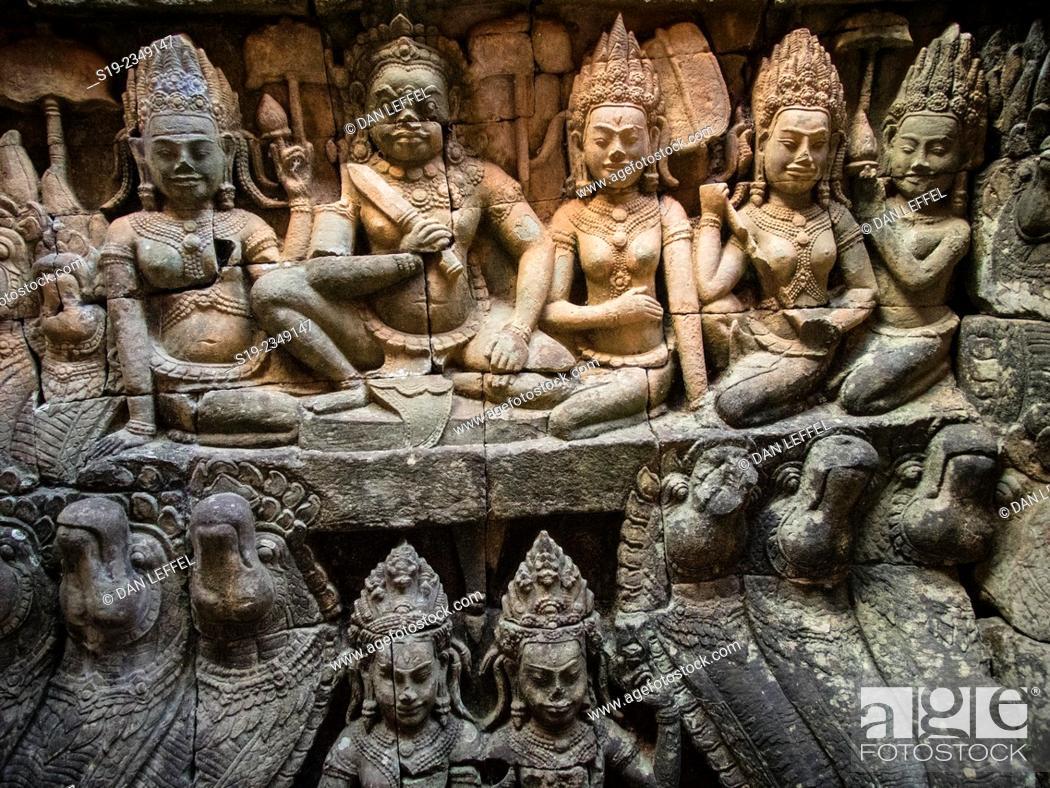 Stock Photo: Angkor Wat.