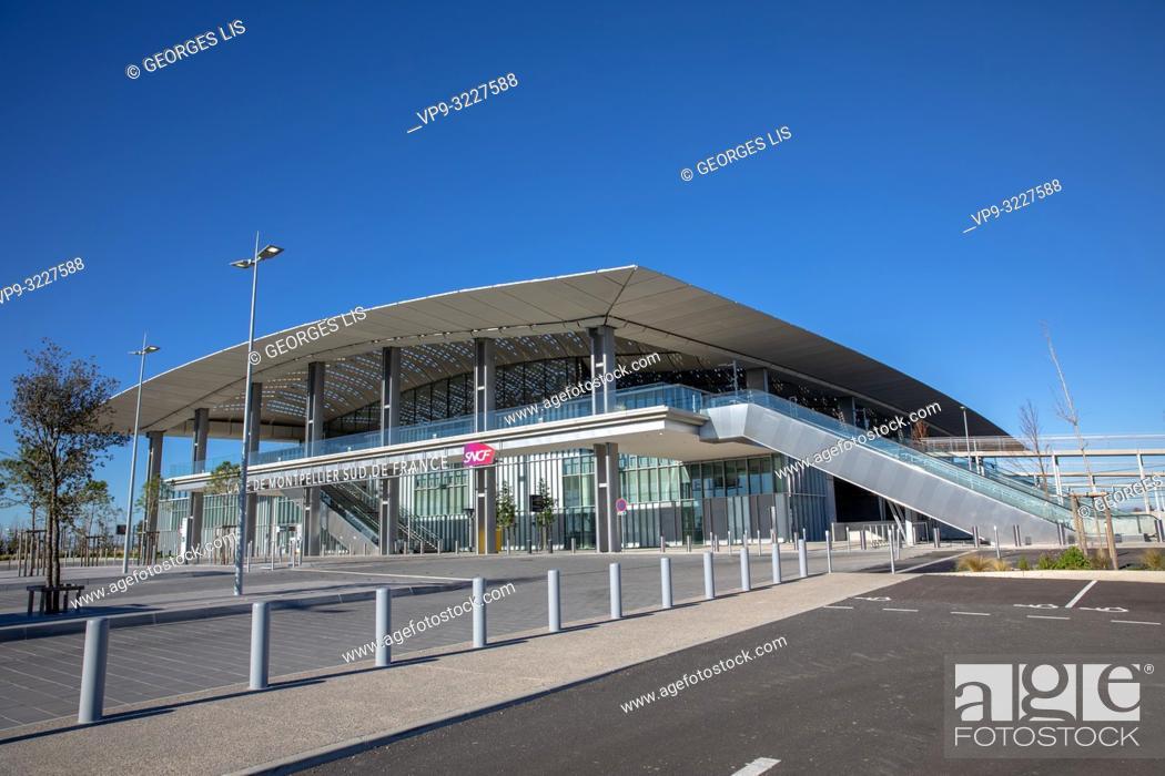 Imagen: New Occitanie railway station, Montpellier.
