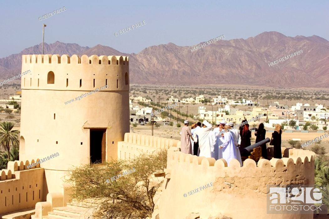 Stock Photo: Oman Sultanate, Nakhal Fort.