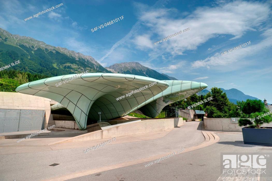 Stock Photo: Österreich, Innsbruck, Hungerburgbahnstation.