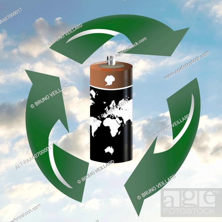 Stock Photo: Proper disposal and recycling of e-waste is necessary to protect the environment.