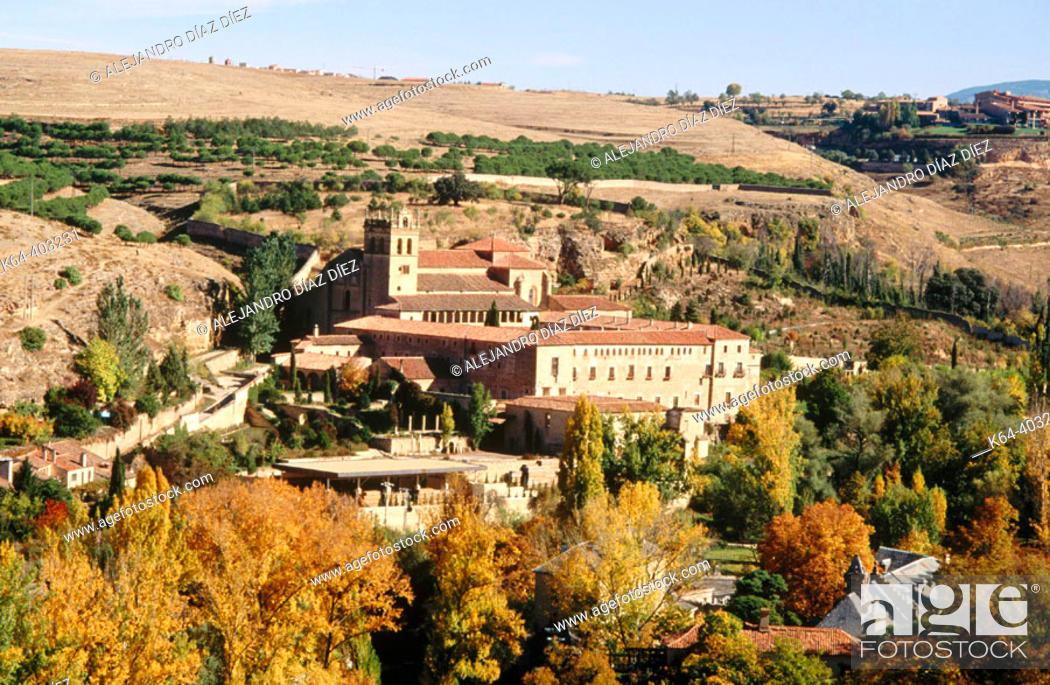 Stock Photo: Santa María del Parral monastery. Segovia province. Spain.
