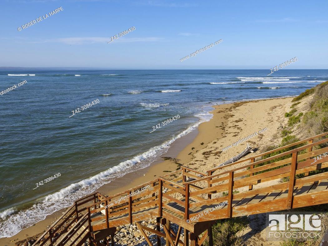 Stock Photo: Beach scene. Infanta. Western Cape. South Africa.