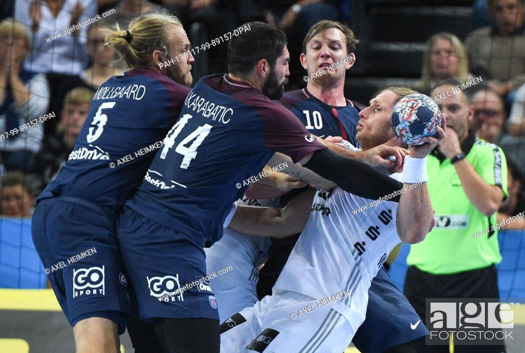 Henrik Mollgaard Jensen Of Paris Saint Germain L R Nikola Karabatic Of Paris Saint Germain Stock Photo Picture And Rights Managed Image Pic Pah 170917 99 89157 Dpai Agefotostock