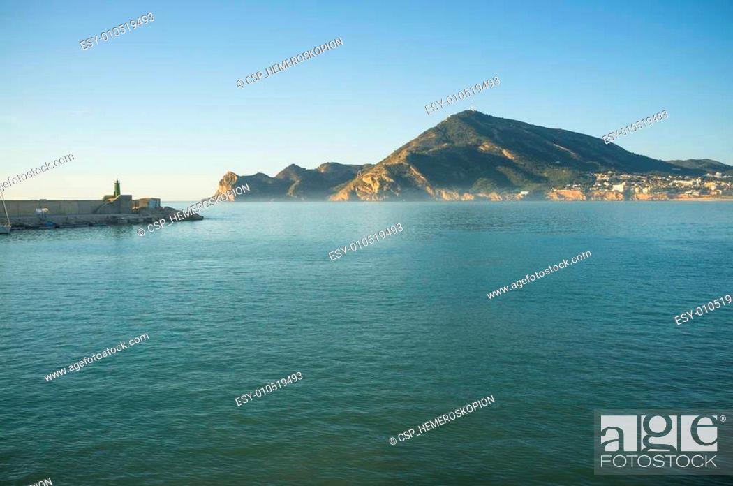 Photo de stock: Early morning on Altea bay.