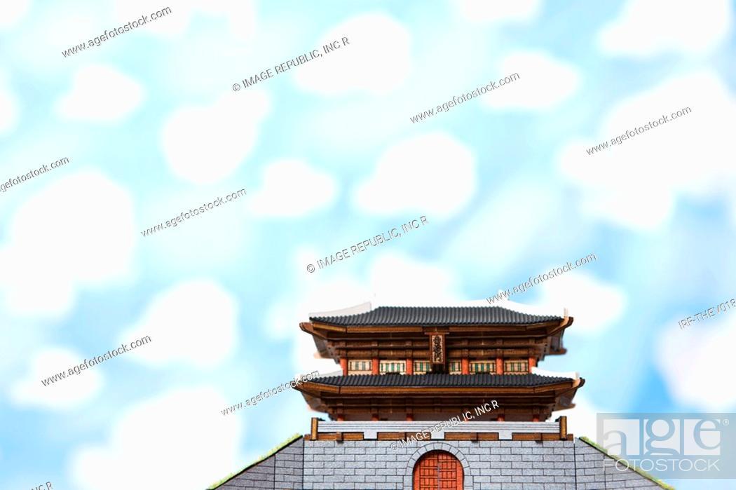 Stock Photo: wallpaper and Namdaemoon.