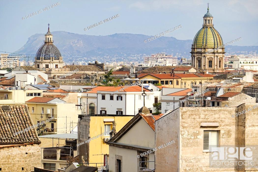 Stock Photo: Palermo, Sicily, Italy.