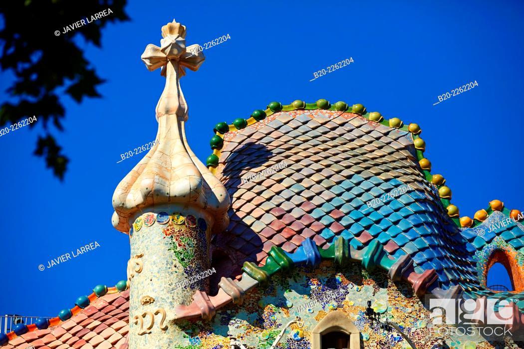 casa batlló by antoni gaudí architect 1904 1906 passeig de gracia