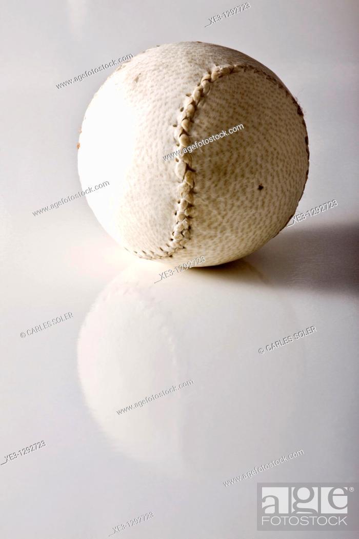 Stock Photo: Basque pelota ball.