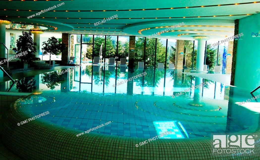 Great Stock Photo   Indoor Swimming Pool Castle Hotel Schlosshotel Buhlerhohe  Buhl Black Forest Baden Wurttemberg Germany Bühlerhöhe Bühl
